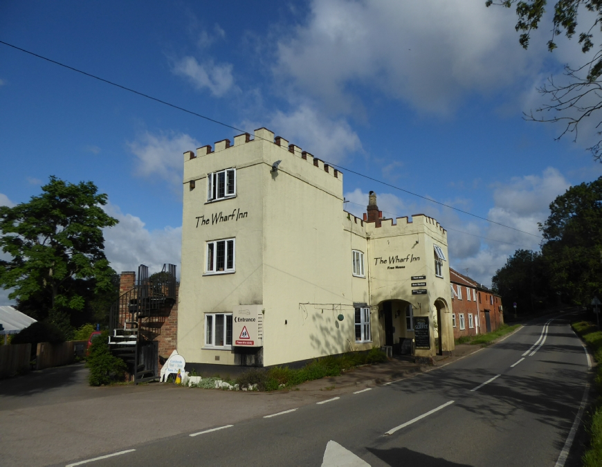 The Wharf Inn Pub Welford Grand Union Canal Leicester Section Welford Arm Photo