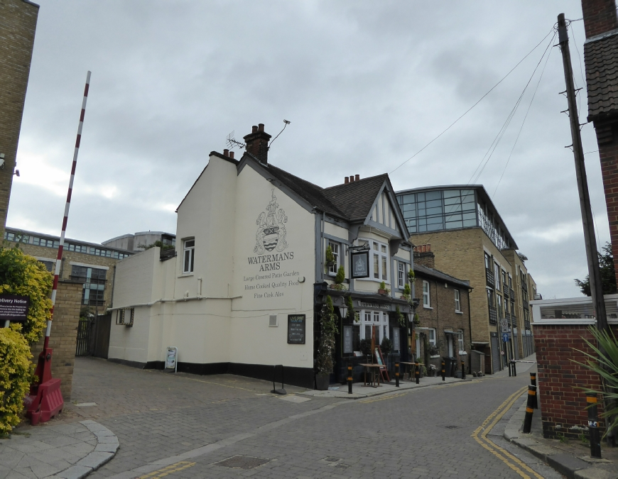 The Watermans Arms Brentford Grand Union Canal Photo
