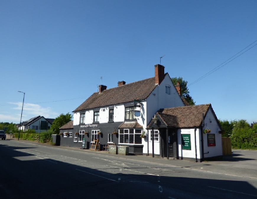 The Wharf Tavern Pub Hockley Heath Solihull Stratford upon Avon Canal Photo