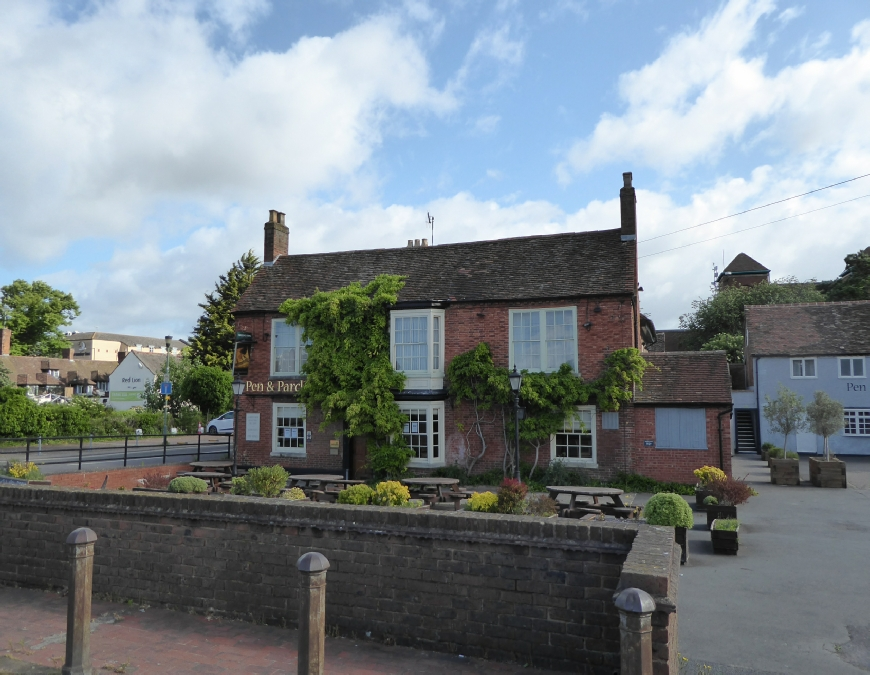 The Pen and Parchment Pub Stratford upon Avon Stratford upon Avon Canal Photo
